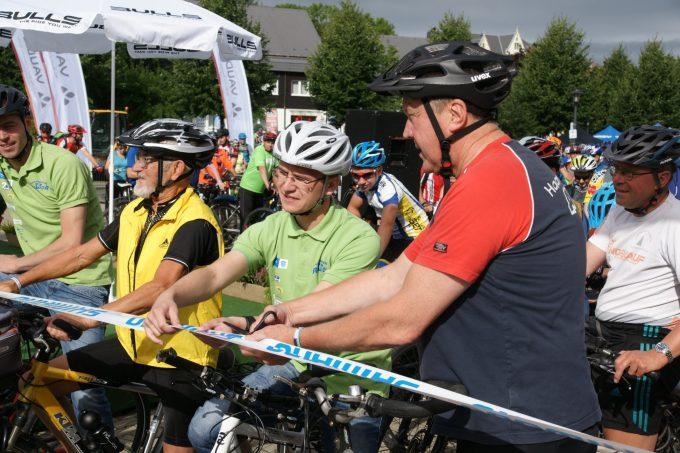Start 24. Olbernhauer Radtour Fitness-Strecke