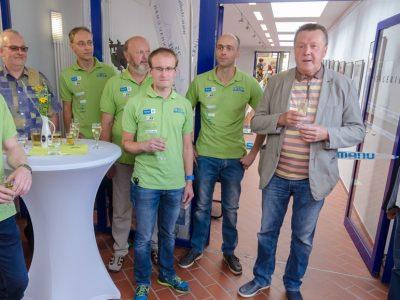 Ausstellung 25 Jahre Olbernhauer Radtour in der Galerie der Stadtwerke Olbernhau