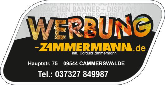 Zimmermann-Werbung Cämmerswalde